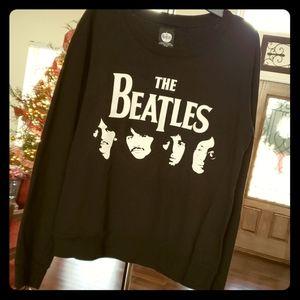 The Beatles Graphic Cotton Sweatshirt sz M